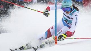 Ski alpin - Coupe du monde: Wendy Holdener à un cheveu du camouflet à Saint-Moritz