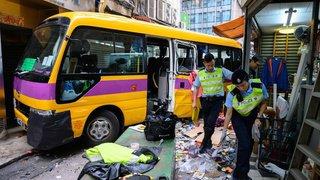 Chine: un bus vide dévale une rue et tue trois personnes