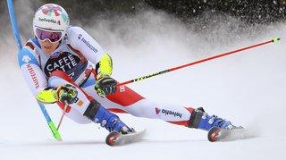 Ski alpin: le Suisse Marco Odermatt 3e à l'issue de la 1ère manche du géant d'Alta Badia