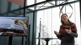 Neuchâtel: Philip Morris a inauguré ses panneaux photovoltaïques et sa mini-éolienne