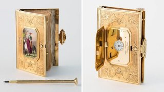 Une montre cachée dans un carnet de bal de retour en terre neuchâteloise