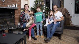 Naïa, 8 ans, vainc le cancer et court pour la Corrida de Noël à Neuchâtel