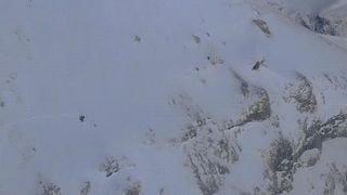 Les Diablerets (VD): sauvetage en montagne suite à un accident de speedflying