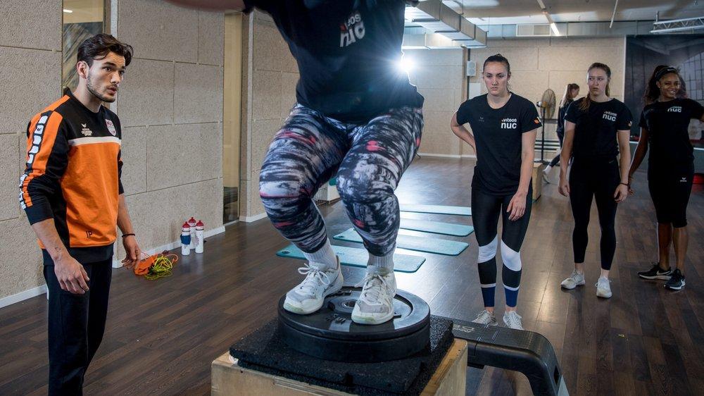 Le saut, la base de la préparation physique des volleyeuses