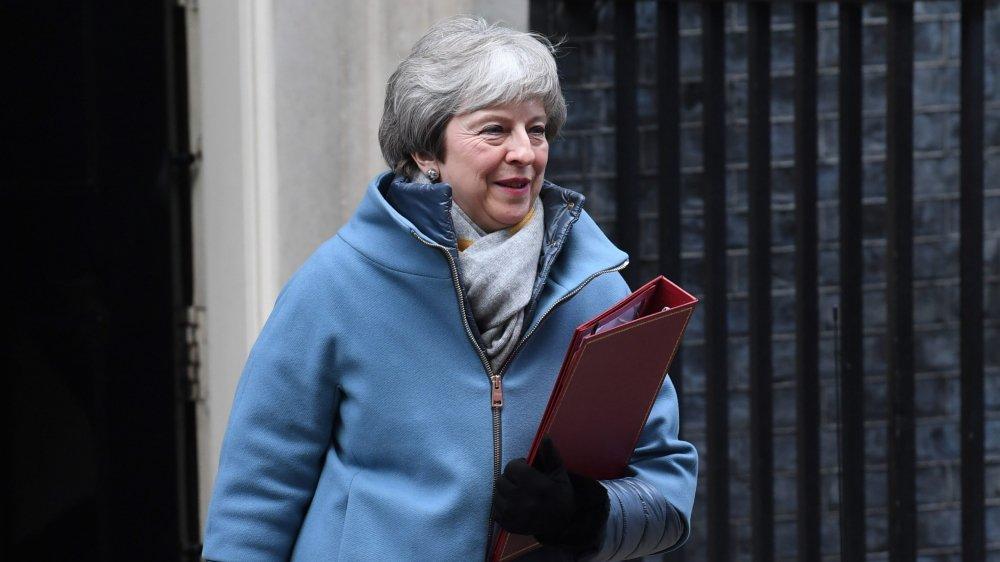 Theresa May a répété son refus d'organiser un second référendum ou de repousser la date du Brexit