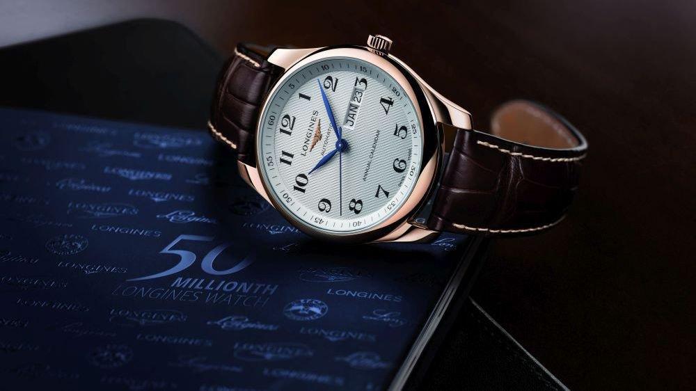 La montre No 50'000'000 est issue de la gamme Master Collection et a enrichi les collections du musée de la marque à Saint-Imier.