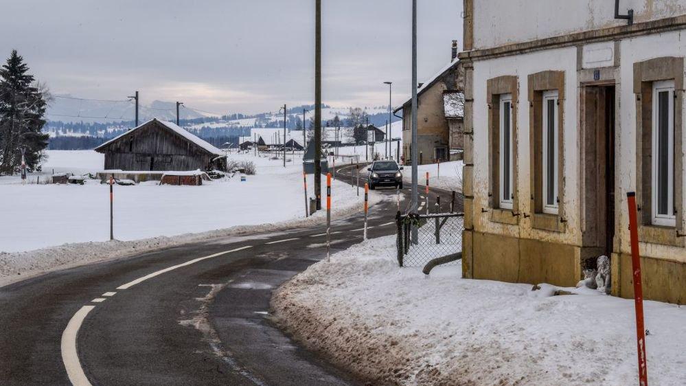La route entre les Ponts-de-Martel et La Sagne doit être refaite.