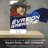 Évasion Garantie,de Yvon Taburet.