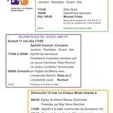 Match aux cartes du 50ème de la Cécilienne Billens