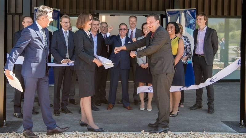 Inauguration, au mois de septembre, du site de Celgene à Couvet