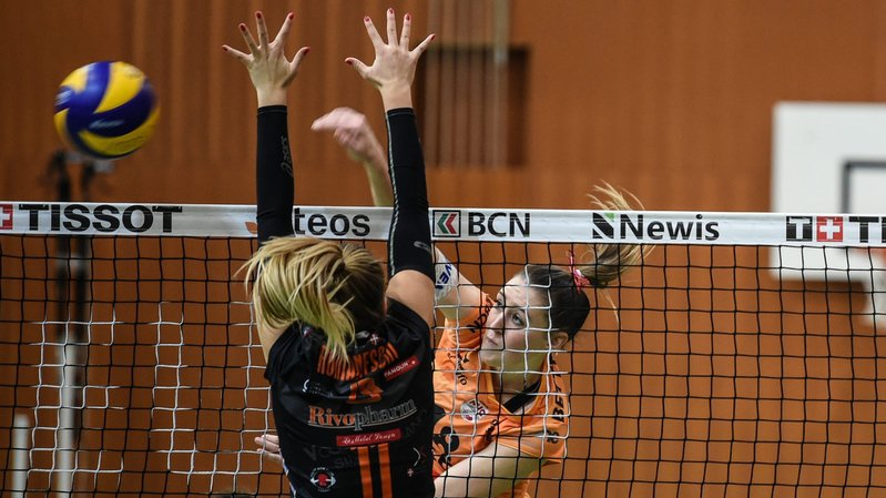 Le NUC contre Lugano en quarts de finale