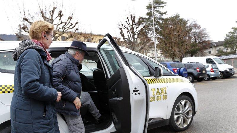 Le taxi, alternative avantageuse à l'ambulance pour l'Hôpital du Jura