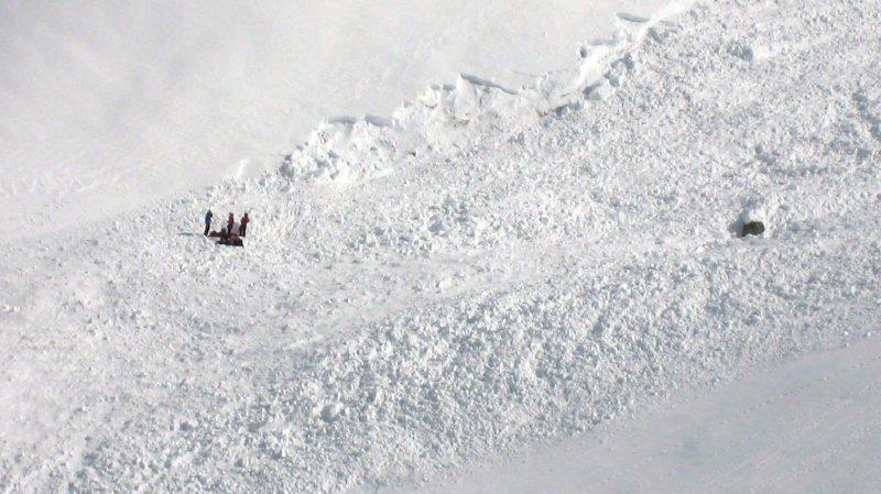 Valais: une Suédoise de 20 ans perd la vie sous une avalanche à Nendaz