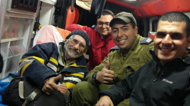 Le pêcheur français secouru venait d'Egypte et naviguait en direction de Gaza.