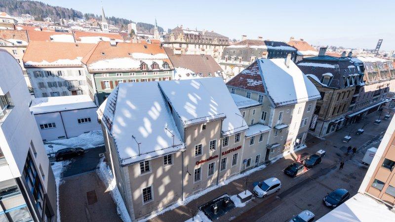 L'ancienne quincaillerie chaux-de-fonnière Kaufmann sera transformée en résidence pour seniors