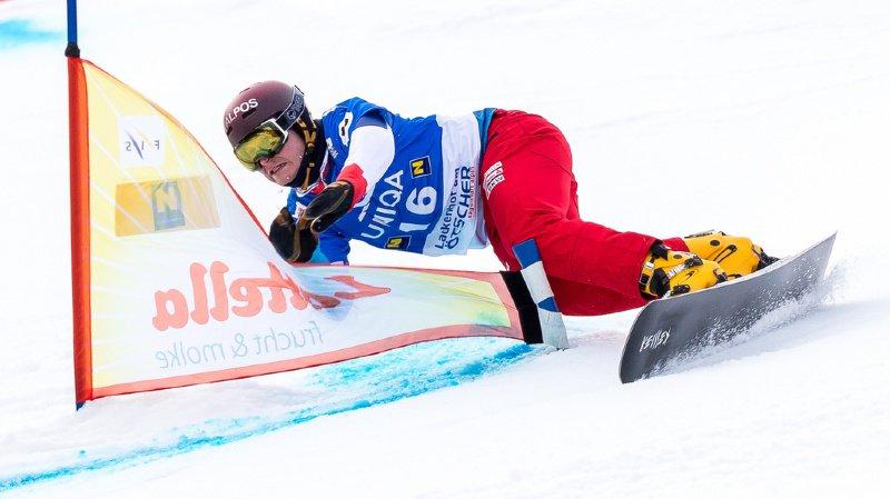 Snowboard: le Suisse Dario Caviezel 2e du slalom parallèle de Bad Gastein
