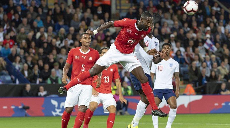 Johan Djourou, ici pendant le match Angleterre-Suisse en septembre 2018.