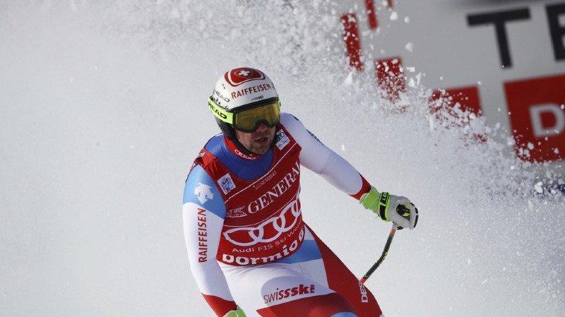 Ski alpin: les Suisses dominent le premier entraînement en vue de la descente de Wengen