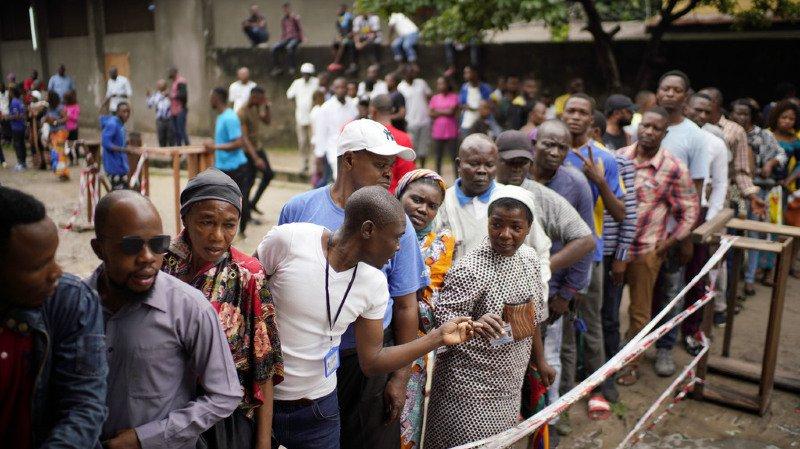 L'engouement pour des élections générales historiques trois fois reportées s'est confirmé tout au long de la journée en RDC.