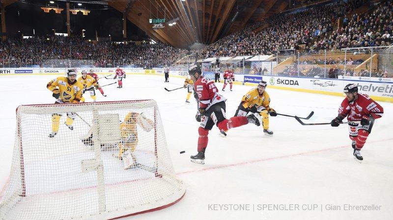 Hockey - Coupe Spengler: pas de 16e trophée pour le Team Canada, battu en finale par les jeunes Finlandais de KalPa Kuopio