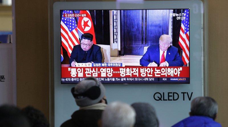Nucléaire nord-coréen: Donald Trump dit souhaiter un nouveau sommet avec Kim Jong-un