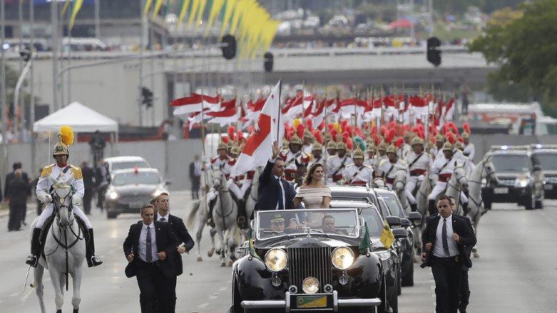 Jair Bolsonaro a été officiellement investi comme président du Brésil