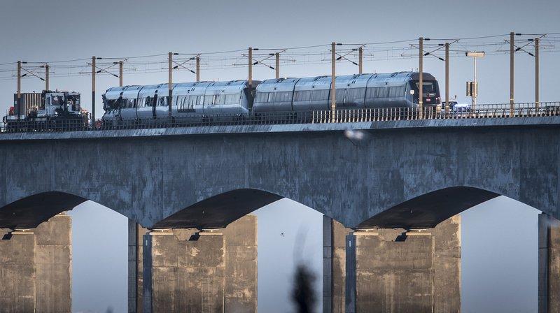 Danemark: au moins six morts et 16 blessés dans un accident de train sur un pont