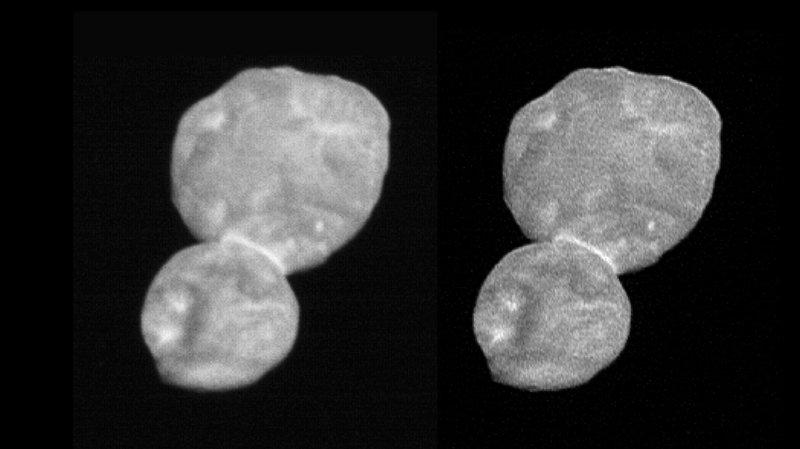 Espace: Ultima Thule, l'objet céleste le plus éloigné de la Terre jamais observé, ressemble... à un bonhomme de neige