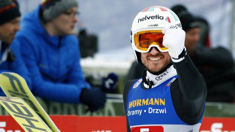 Killian Peier a signé une prometteuse 7e palce sur le tremplin d'Innsbruck.