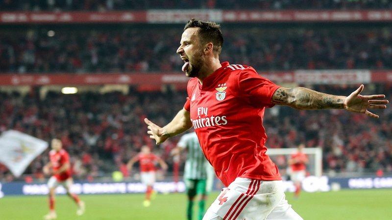 Football: Haris Seferovic marque encore et offre la victoire au Benfica Lisbonne