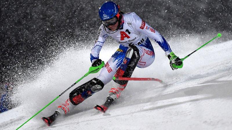 Ski alpin – slalom de Flachau: Vlohva bat Shiffrin, Holdener 5e