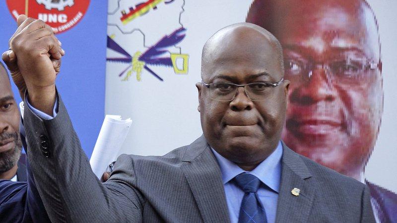 RDC: l'opposant Félix Tshisekedi proclamé vainqueur de l'élection présidentielle