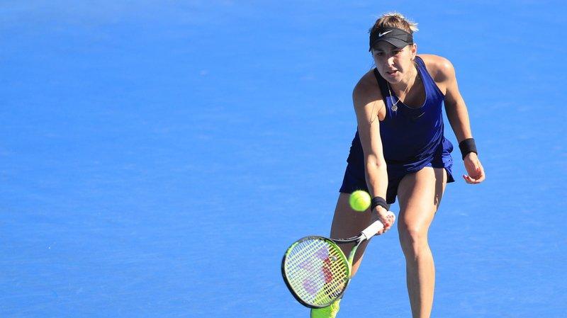 Tennis – Tournoi de Hobart: Bencic éliminée en demi-finale par la Slovaque Schmiedlova