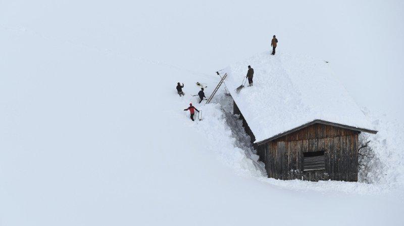 Jusqu'à trois mètres de neige, et même plus par endroits, sont tombés dans l'ouest et le centre de l'Autriche depuis jeudi dernier.