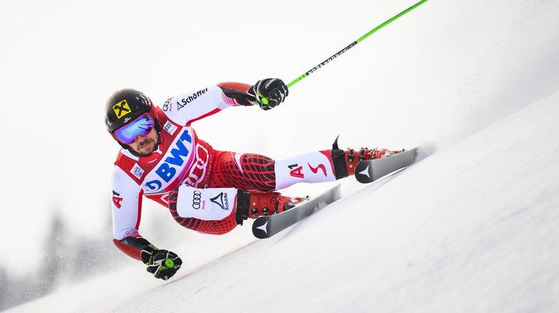 Marcel Hirscher a signé samedi son huitième succès à Adelboden le quatrième en géant.