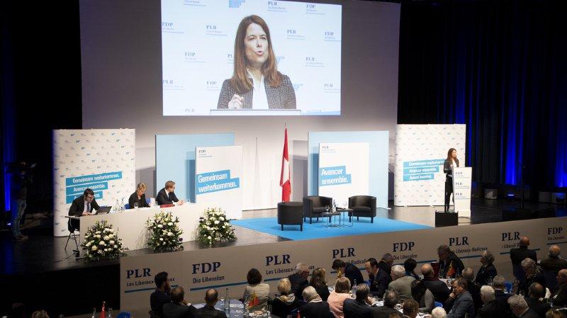 Assemblée des délégués:  le PLR lance sa campagne en vue des fédérales de 2019