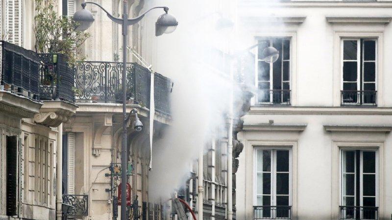 Paris: six immeubles menacent de s'effondrer après l'explosion de samedi