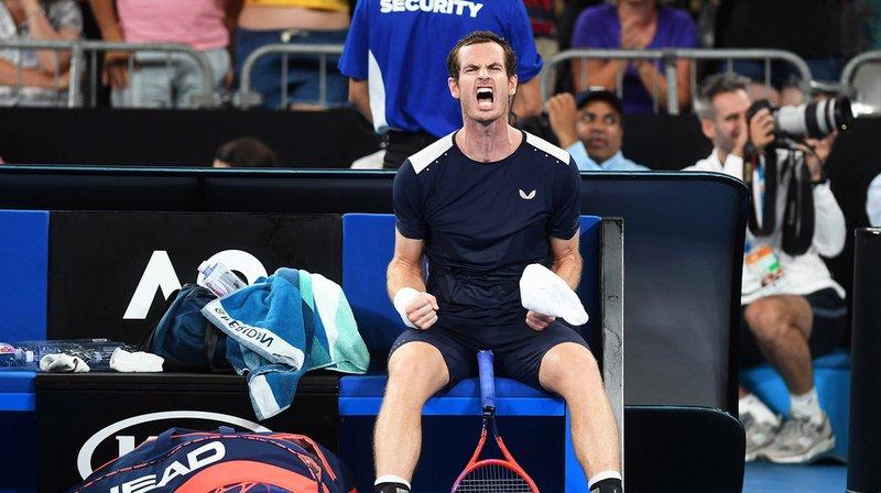 Andy Murray a combattu avec rage.