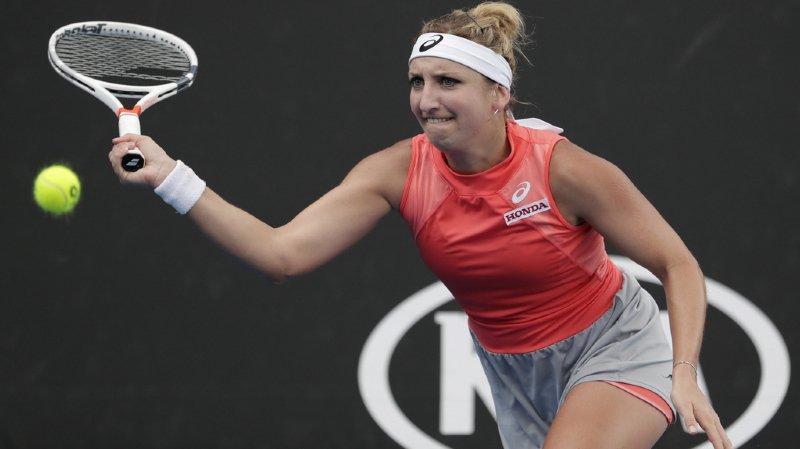 Tennis - Open d'Australie: Timea Bacsinszky s'incline en 2 sets face à l'Espagnole Mugurza