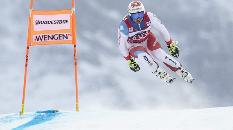 Ski alpin: Beat Feuz 10e du 2e entraînement, l'Italien Dominik Paris en tête à Wengen