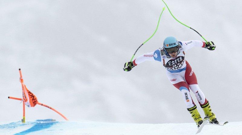 Ski alpin: souffrant d'une commotion cérébrale, le Suisse Patrick Küng annonce son forfait pour Wengen