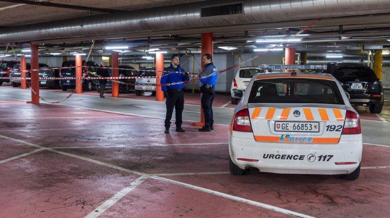 Les faits se sont produits tôt samedi matin, dans ce parking souterrain des Charmilles.