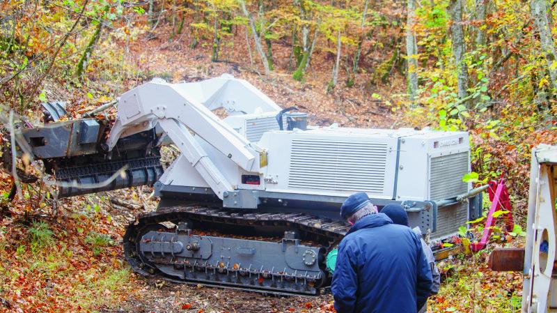 Place aux vrais champs de mines pour le D-250 de la Fondation Digger