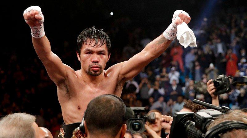 Le dernier succès de Manny Pacquiao?