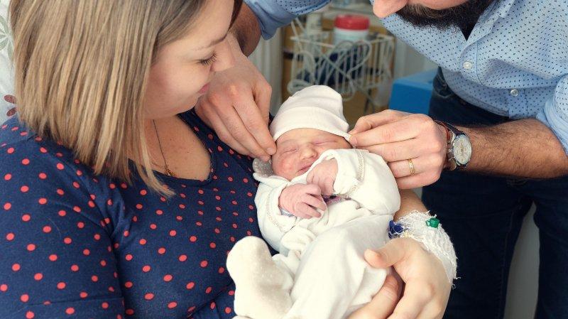 Le premier bébé neuchâtelois de l'année est une petite fille qui se prénomme Elisa. Elle est née a l'hôpital de Pourtalès, à Neuchâtel, à 6h41 le 1er janvier 2019.