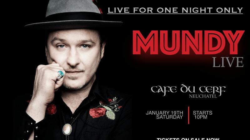 """""""Mundy"""" en concert au Cerf"""