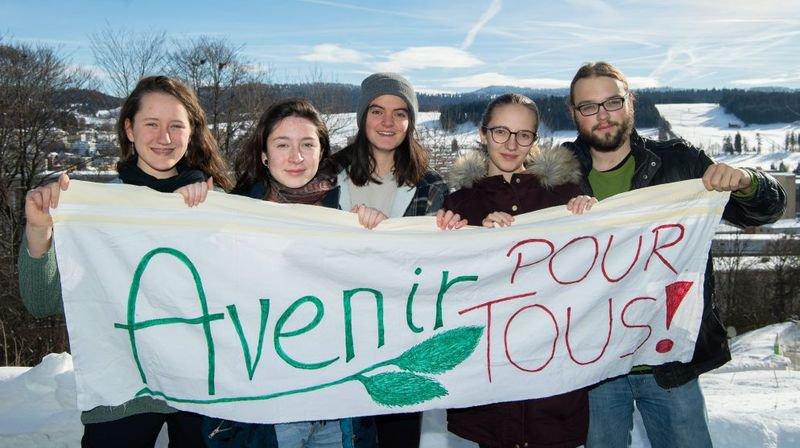 Qui sont ces jeunes Neuchâtelois qui prônent la grève pour le climat?