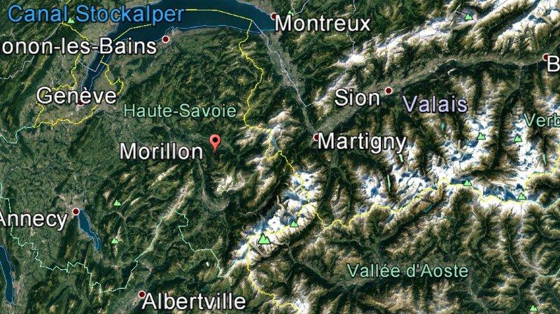 L'accident s'est produit dans la station de ski de Morillon, en Haute-Savoie.
