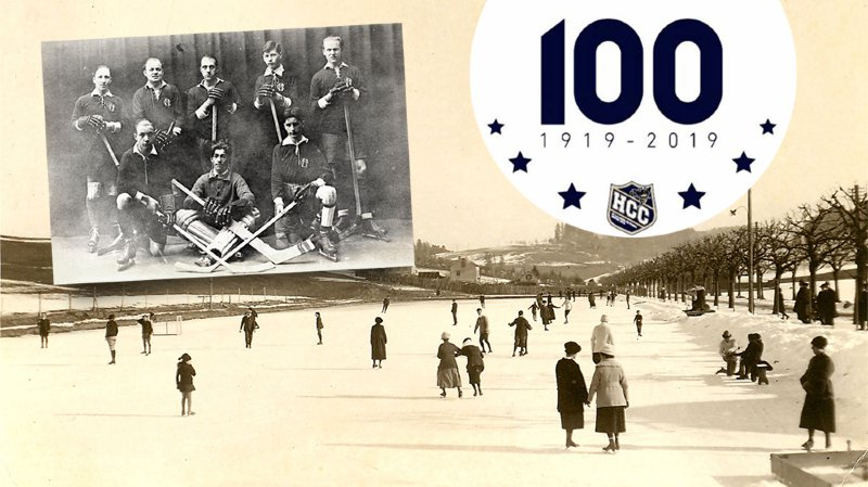Les fondateurs du HCC ont d'abord utilisé la patinoire du Patinage pour s'y former et progresser.