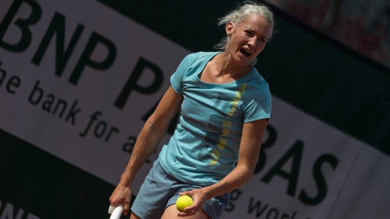 Conny Perrin battue en demi-finale à Singapour
